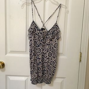 ⭐️2/$20 American Eagle Blue Floral Cami